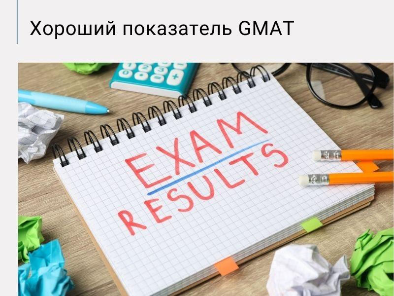 Баллы GMAT, результаты экзамена GMAT